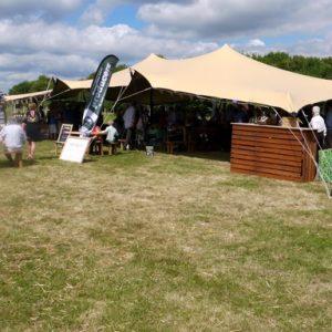 stretch tent hire berkshire 03