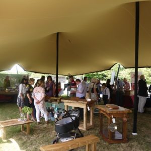 stretch tent hire berkshire 05