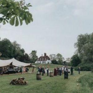 stretch tent wedding hire 1
