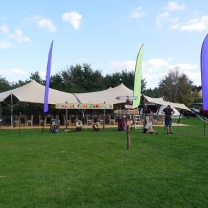 hire stretch tent berkshire 03