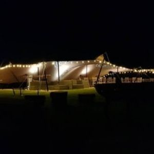 stretch tent hire berkshire 4